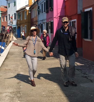 Walking in Burano 1
